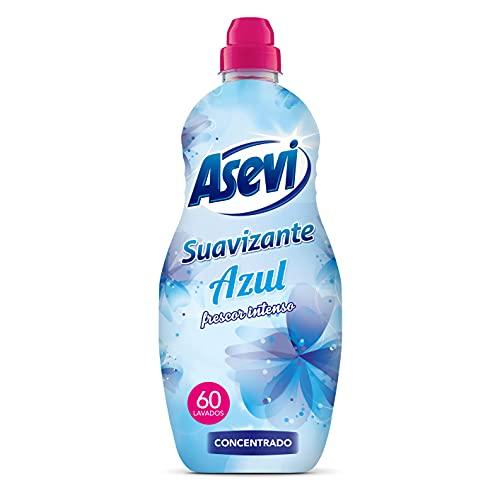 Asevi Suavizante Concentrado, 60 Dosis, Azul, 1500 Mililitros