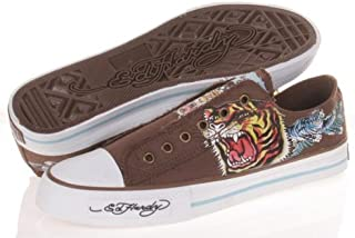 $90 Ed Hardy Lowrise Classic Men's Shoes Sneakers 13