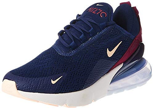 Nike Damen W Air Max 270 Leichtathletikschuhe, Mehrfarbig (Blue Void/Crimson Tint/True Berry 402), 37.5 EU