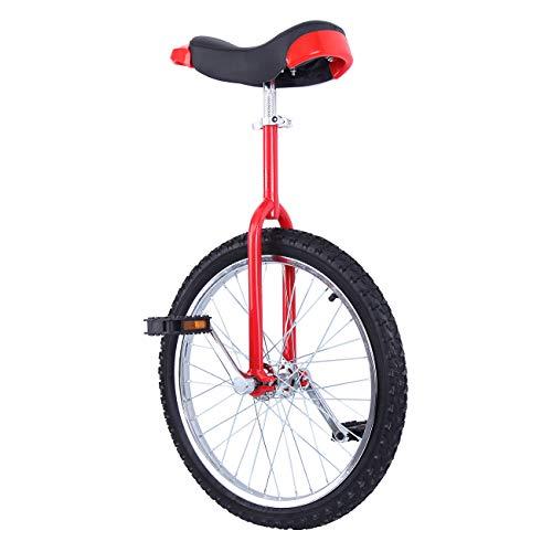 Yonntech 20' Trainer per Bambini/Adulti Monociclo Regolabile in Altezza Bici di Bicicletta di Esercizio dell'equilibrio dell'equilibrio di Tiro della Montagna di Butyl
