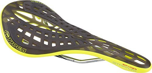 Tioga MTB Spyder Aquariensubstrat Stratum Sattel Unisex Erwachsene, Neon Gelb