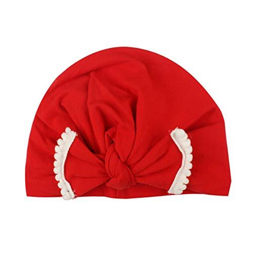 Borlai Bébé Garçons Filles Mignon Turban Inde Chapeau Mode Bébé Bonnet Casquette pour 0-2 Ans