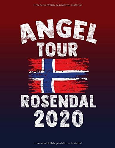 Angeltour Norwegen - Rosendal 2020: DIN A4 Fangbuch auf über 120 Seiten für den perfekten Angelurlaub in Norge. Angel Buch Notizbuch / Logbuch zum Eintragen der Fänge und Fische.
