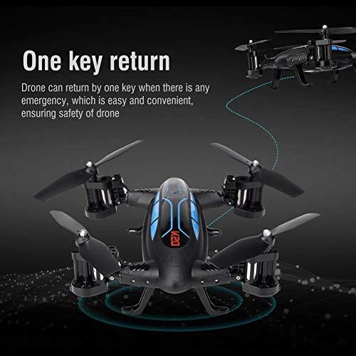 RC Hochgeschwindigkeitsflugauto, Luftdruck Höhe halten Tumbling Fernbedienung Drohne Fliegende Autos Quadcopter Auto(Doppelte Version)