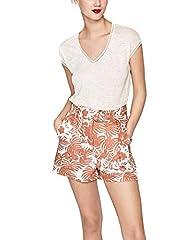 Pepe Jeans Camiseta de Manga Corta Clementine Coral para Mujer