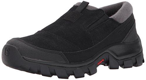 Salomon Women's Snowclog Snow Shoes, Black/Black/Magnet, 8.5 M US