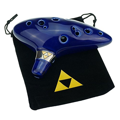 'Cheffort' 12 Hole Ocarina From Legend of Zelda,alto C...