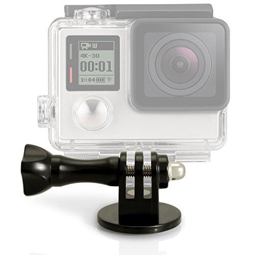 Oferta de igadgitz U3909 - Adaptador de fijación trípode / monopié/Palo Selfie, con Tornillo y Tuerca Compatible con GoPro Hero, Session, Black & Fusion