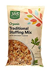 365 by Whole Foods Market, Limited Edition Organic Stuffing Mix, Traditional with Chicken Flavor, 10