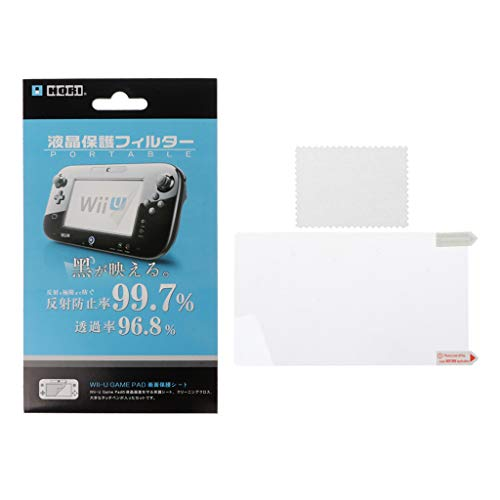 Qintaiourty Protecteur de surface pour film protecteur ultra-clair pour manette de jeu Nintendo WII U