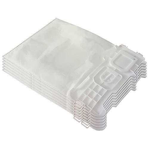 6 Mikrovlies Staubsaugerbeutel geeignet für Vorwerk Kobold 135, 136, 135 SC, VK 135, VK 136, VK135, VK136, FP135, FP136 - mit Hygieneverschluss - Vlies