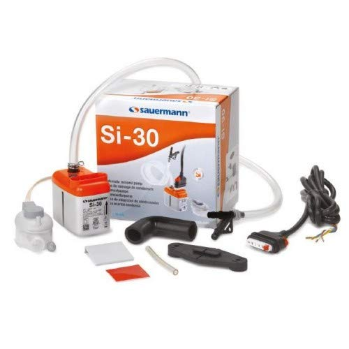 Sauermann SI-30-230V Mini Condensate Removal Pump for up to 5.6 Ton Air Conditioners, 230V