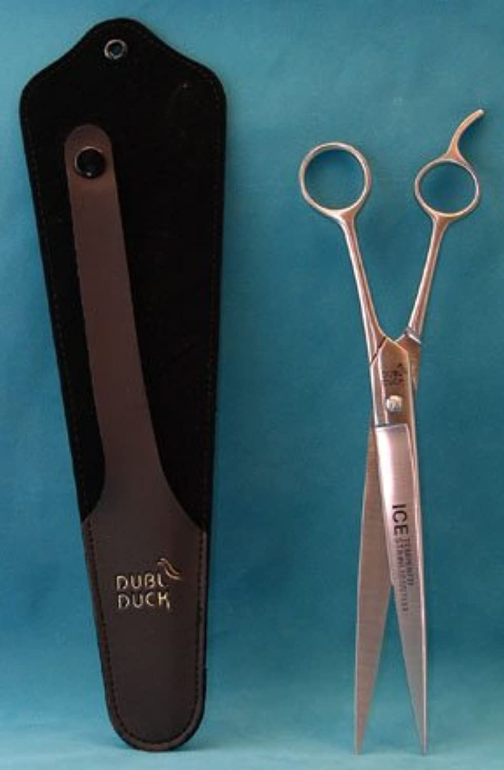 Dubl Duck Economy 10  Curved Dog Grooming Scissors