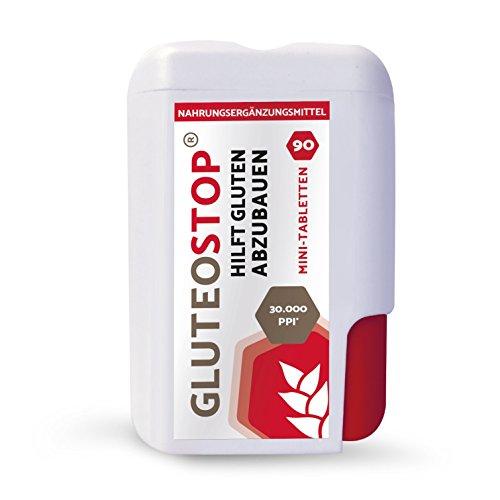 GluteoStop® - ayuda a descomponer el gluten - sensibilidad al