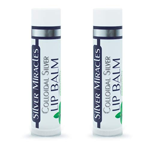 Colloidal Silver Peppermint Lip Balm (2)