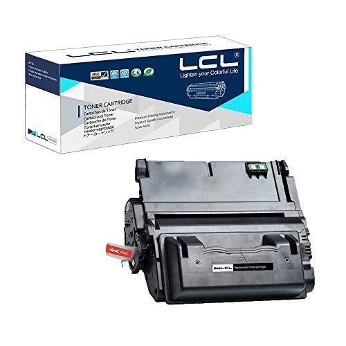 LCL 42X Q5942X Q5941X 20000pages Cartucho de Tóner Compatible para HP Laserjet 4250 4250n 4250tn 4250dtn 4250dtnsl 4350 4350n 4350tn 4350dtn 4350dtnsl (1Negro)