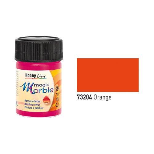 Magic Marble Marmorierfarbe, Orange, 20ml [Spielzeug]