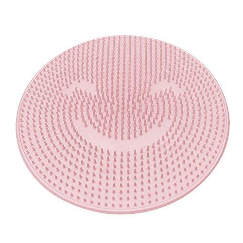 XUWLM séptico pie artefacto de Silicona Enema, Bürstemassager- desajuste de Las Patas Sonriente silicio Cepillo de Limpieza pie Lavado la pedicura Filtro Manta Modelo