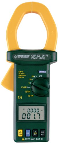 Greenlee - Clampmeter-Trms 2000A Pwr Fact, Elec Test Instruments (CMP-200)