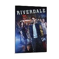 リバーデイル シーズン1のTVシリーズのキャラクター ポスター装飾キャンバス絵画モダンな壁アートポスターリビングルーム、ベッドルーム、子供部屋、誕生日ギフトアートワーク,16×24inch(40×60cm)