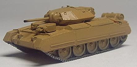 イギリス クルセイダー巡行戦車 MkⅡ(サイドスカート MG砲塔) 1/144 塗装済み完成品 Britain Cruiser tank Crsader Mk ⅡSide skirt MG turret 1/144 Painted finished goods
