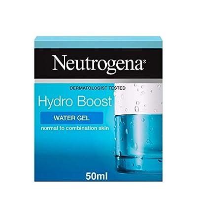 Neutrogena Hydro Boost Water Gel Moisturiser, Boosts Hydration, Face Moisturiser Formulated with Hyaluronic Acid, 50 ml