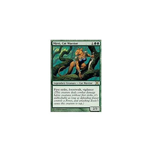 Magic: the Gathering - Mirri, Cat Warrior (279/383) - Tenth Edition by Magic: the Gathering