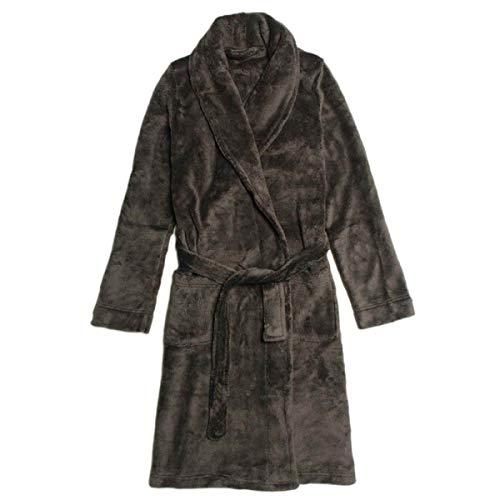 Adelina mannen nner of koraal pyjama warm vrouwen zachte kasjmier grijs modieuze complete badjas douche robe vakantie licht paar badjas