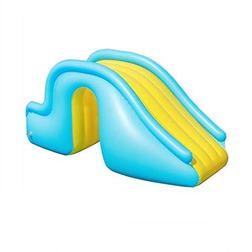 Litty Aufblasbare Wasserrutsche, Pool-Rutsche mit Erweiterung der Stufen, einfach zu tragen Wasserrutschen für Garten kann schnell für Garten Strand Schwimmbad gespeichert Werden