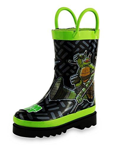 Teenage Mutant Ninja Turtles TMNT Rain Boots - Size 6 Toddler