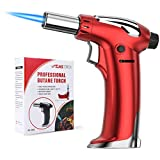 NANW Butane Torch, Refillable Kitchen Blow Torch Lighter Culinary Cooking Torch with Safety Lock &...
