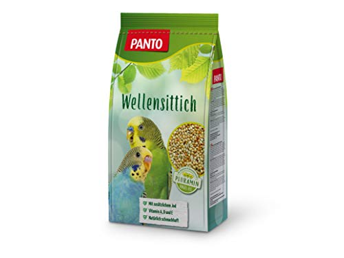 Panto Wellensittichfutter, 5er Pack (5 x 1 kg)