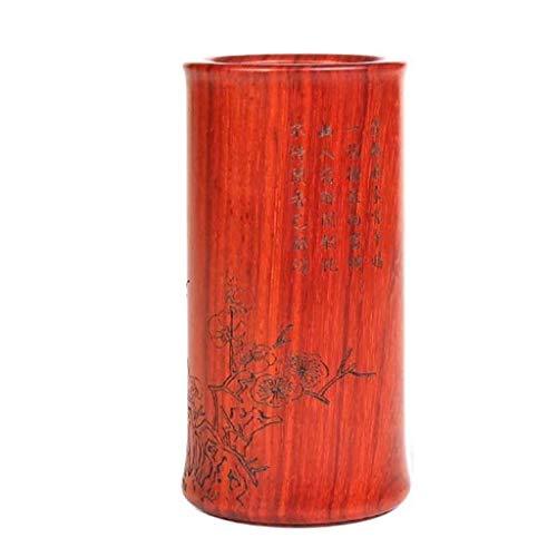 Jszzz Palisander Stifthalter, Bleistifthalter for Schreibtisch, Holz-Feder-Bleistift-Organisator-Speicher, Home Office Verwenden Bleistift Cup Pot