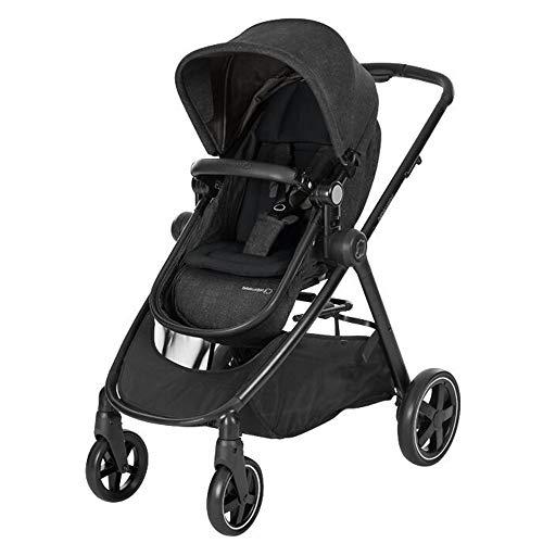 Bébé Confort Zelia cochecito desde nacimiento, color nomad black