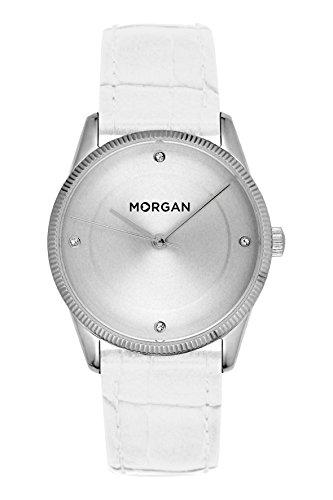 MORGAN Reloj Fecha Standard para Mujer de Cuarzo con Correa en PU MG 005-BB