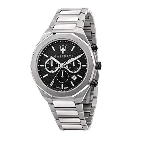 Maserati Reloj Hombre, Colección Stile, Cuarzo, Cronógrafo, en Acero - R8873642004