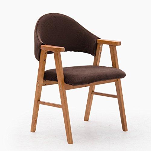 Chaise Tabouret Bureau et des fauteuils Chaise Tissu Café Chaise Lavable Appartement Simple Chaise d'ordinateur