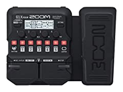 71 built-in guitar effects and 13 amp models Free download of Zoom guitar lab Mac/Windows software 30-Second looper 68 built-in rhythm patterns Standard Guitar input, aux input for external audio players and amp/headphone output