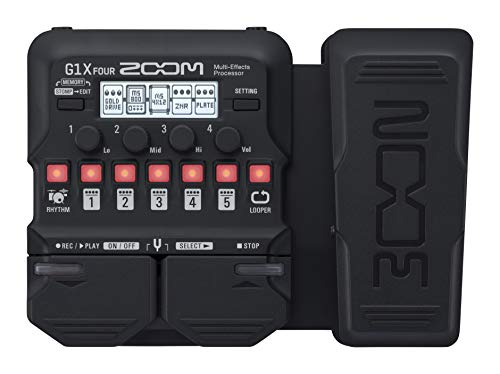 Zoom G1X FOUR Guitar Multi-Effects Processor with Expression...