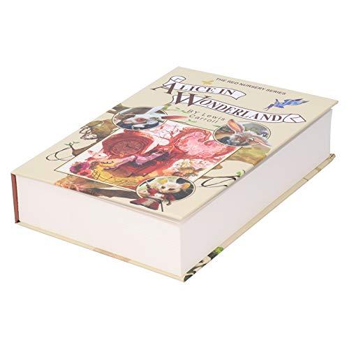 Cassaforte nascosta con libro segreto, cassaforte per deviazioni, con lucchetto a combinazione portatile per denaro gioielli