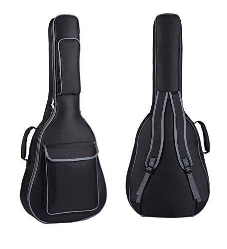 Gitarrentasche für 40/41-Zoll-Akustikgitarren, Wasserdicht, gepolsterter Rucksack