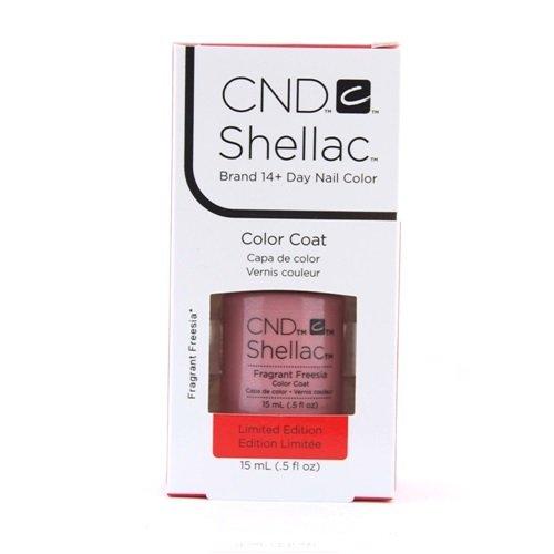 Smalto gel per unghie CND Shellac 15ml - Fragrant Freesia - Nuovo formato salone