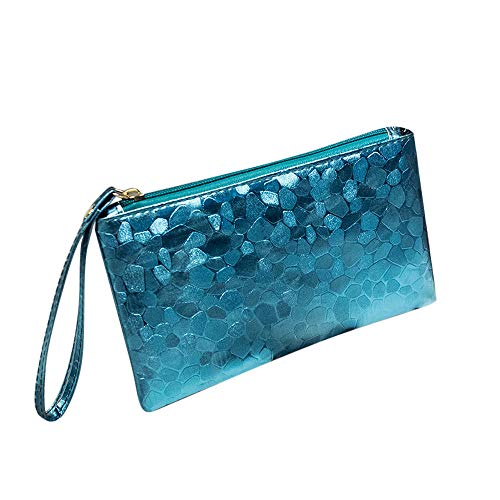 BHYDRY Mode Frauen Abend Party Clutch Bag Make-Up Tasche Pailletten Funkelnde Bling Geldbörse