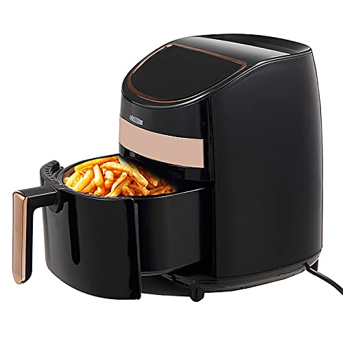 Hot Air Fryer Oven 3.2 QT Pot Quarts Electric Oil Less 1400W Touch Screen Airfryer 5 Core AF 320 ⭐⭐⭐⭐⭐Ratings ✔️ Best Deal
