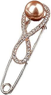 styleBREAKER /épingle d/écorative pour Femmes avec Arbre de Vie en Strass pour Poncho Foulard ou ch/âle /épingle /à nourrice 05050084