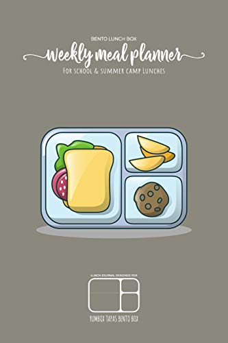 BENTO LUNCH BOX - Weekly meal planner for school and summer camp lunches | Lunch journal designed for YUMBOX TAPAS BENTO BOX: DOWNLOADABLE BONUS ... meal planner for BENTO BOX COLLECTION)