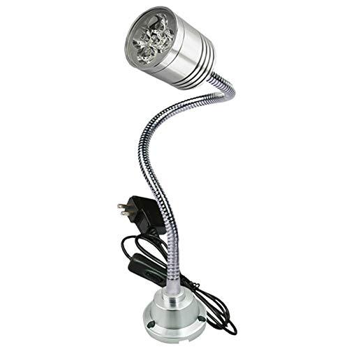 AUEDC Luz de Trabajo LED Recargable portátil con Base de Clip, lámpara de Herramienta LED de la máquina del LED de la para el Torno de la fábrica,36v,5w