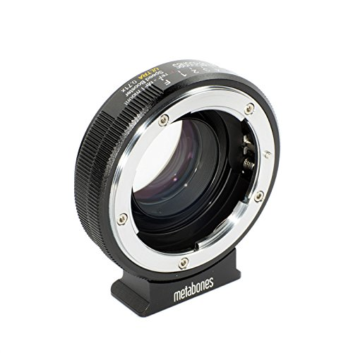 Metabones Nikon G an Micro Four Thirds Speed Booster 0,71 x schwarz Objektiv