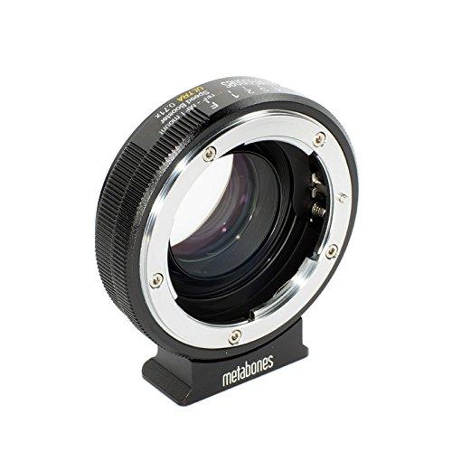Metabones Nikon G an Micro Four Thirds Speed Booster 0,71x schwarz Objektiv