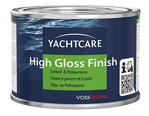 Yachtcare High Gloss Finish 500g - silikonfreie Poliercreme für verwitterte und matte Oberflächen mit Schutzfilmwirkung